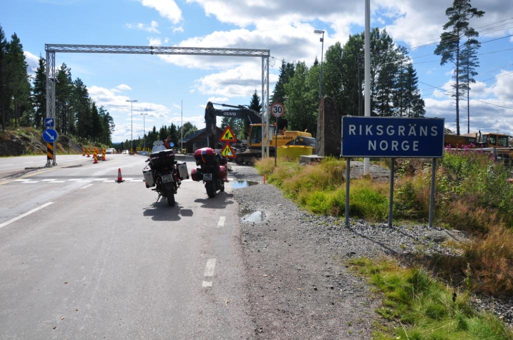 Поездка в Норвегию на Aprilia Caponord